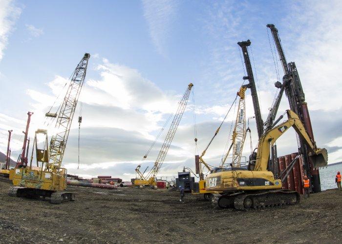 Гидротехнические и береговые сооружения для первой в мире плавучей АТЭС